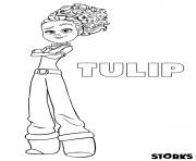 cigognes et compagnie film Tulip dessin à colorier