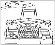 pat patrouille vehicule de recolte dessin à colorier