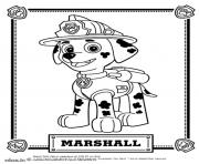 Coloriage beau dalmatien Marcus Marshall