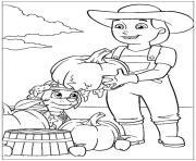 pat patrouille citrouille cassee dessin à colorier