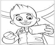 pat patrouille mission recue dessin à colorier