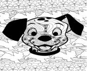 Coloriage disney anti stress puppies