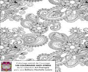 Coloriage anti stress hachette