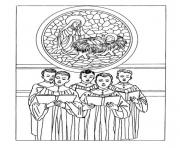 Coloriage noel adulte traditionnel 02