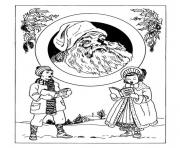 Coloriage noel adulte traditionnel 05