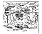 Coloriage noel adulte traditionnel 10