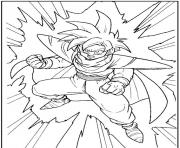 Coloriage dragon ball z 199