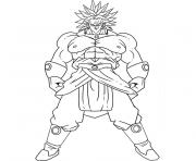 Coloriage dragon ball z 4