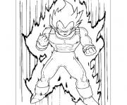 Coloriage vegeta dragon ball z 193