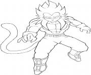 Coloriage dragon ball z 180