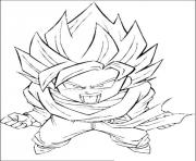 Coloriage dragon ball z 27