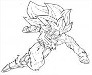 Coloriage dragon ball z 79