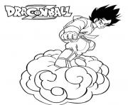 Coloriage dragon ball z 84