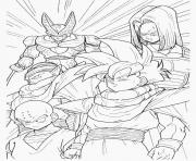 Coloriage dragon ball z 122