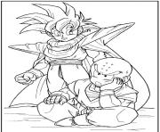 Coloriage dragon ball z 46