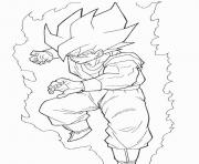 Coloriage dragon ball z 35