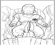 Coloriage dragon ball z 68