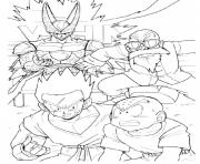 Coloriage dragon ball z 177