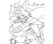 Coloriage dragon ball z 20