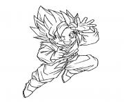 Coloriage dragon ball z 86