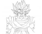 Coloriage dragon ball z 186