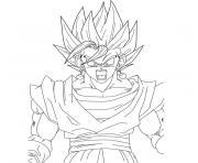 Coloriage Dragon Ball Z à Imprimer Gratuit Sur Coloriageinfo