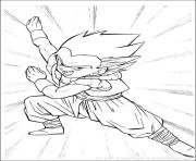 Coloriage dragon ball z 72