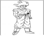 Coloriage dragon ball z 74