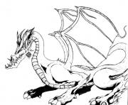Coloriage dragon 249