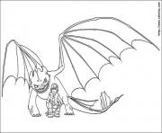 Coloriage dragon 41