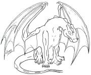 Coloriage dragon 298