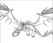 Coloriage dragon 89