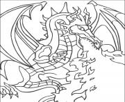 dragon 148 dessin à colorier