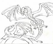 Coloriage dragon 227