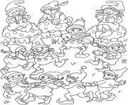 lutin de noel 36 dessin à colorier