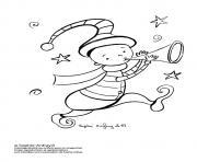 lutin de noel 27 dessin à colorier