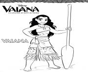 Coloriage Vaiana Moana à Imprimer Gratuit Sur Coloriage Info