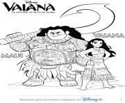 Coloriage Vaiana Moana à Imprimer Gratuit Sur Coloriageinfo