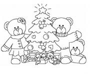 Coloriage noel maternelle