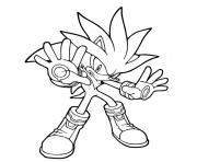 Coloriage sonic 11