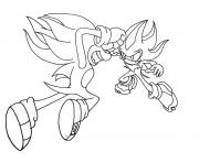 Coloriage sonic 178