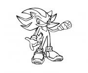Coloriage sonic 259