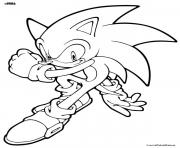 Coloriage super sonic 76