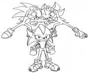 Coloriage sonic 81