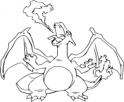 Coloriage pokemon latios dessin