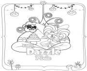 Trolls Dazzle Pixie dessin à colorier
