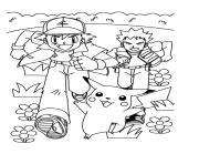 pikachu 38 dessin à colorier