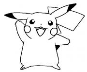 Coloriage cute pikachu s57b4