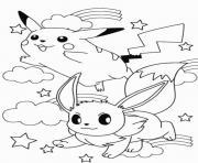 printable pikachu sc2eb dessin à colorier