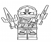 Coloriage dragon ninjago gigantesque dessin